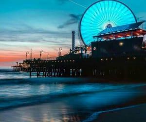 amazing, beach, and california image