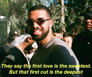 Drake, lyric, and Lyrics image