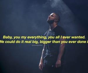 Drake, lyric, and Lyrics image