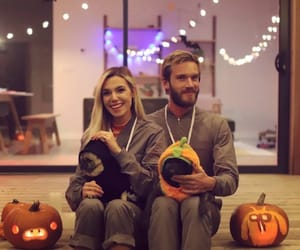 couple, Halloween, and Relationship image