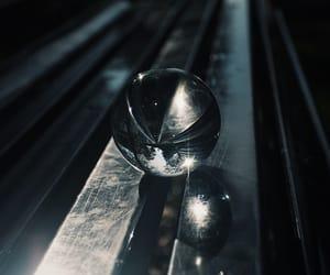 ball, crystal, and outside image