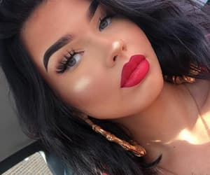 eyes, highlight, and red image