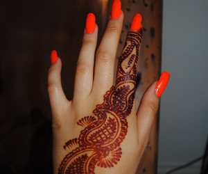 nails, henna, and art image