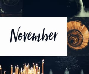 november, witch, and 2018 image