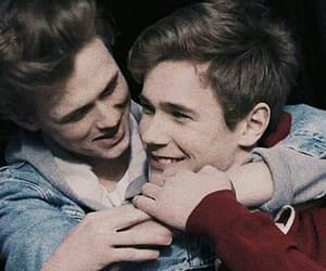 skam, gay, and even image