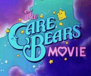 movie, care bears, and clouds image
