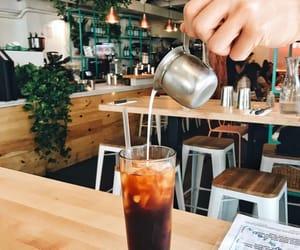 black, cafe, and cream image