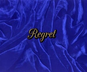 blue, regret, and aesthetic image