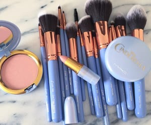 makeup, cinderella, and blue image