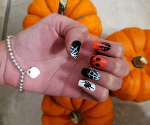 bracelet, Halloween, and nails image