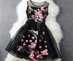 aesthetic, background, and dress image