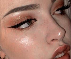 girl, glow, and makeup image