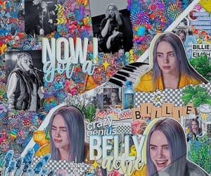 billie, colorful, and inspiration image