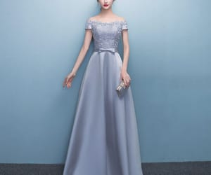 bow, off-the-shoulder, and a-line princess image