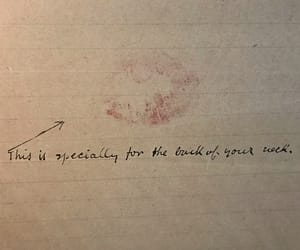 kiss, love letter, and neck image
