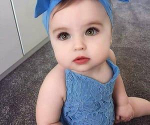 baby, eyes, and fashion image
