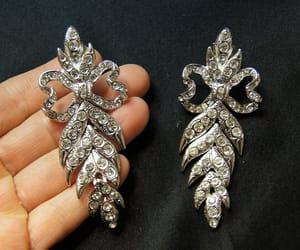 etsy, ysl earrings, and clip earrings image