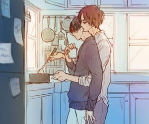 boys, cook, and love image