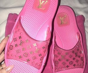 aesthetic, pink, and Louis Vuitton image
