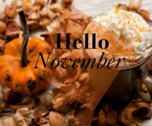 november, autumn, and christmas image