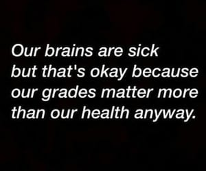quotes, grades, and sick image