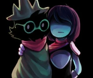 kris, undertale, and deltarune image