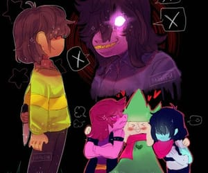 kris, susie, and undertale image