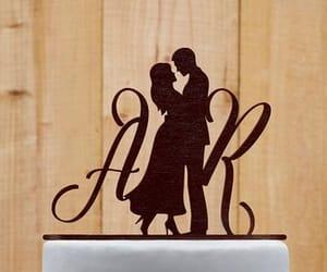 cake, etsy, and wedding cake topper image