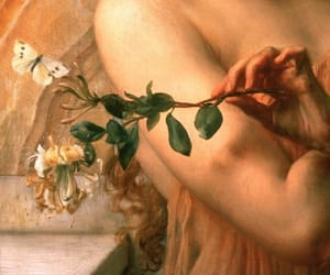 art, hand, and delicate image