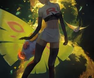 anime, pokemon, and team rocket image