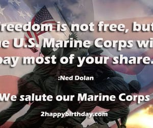 birthday, marine corps, and usmc birthday image