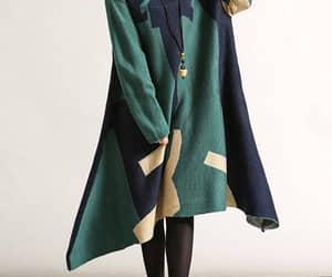 etsy, sweater dress, and cotton dress image