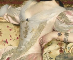 art, fabric, and portrait image