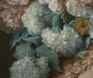 art, flowers, and oil image