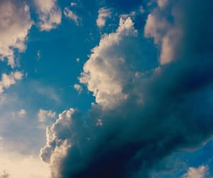 clouds, blue, and edit image