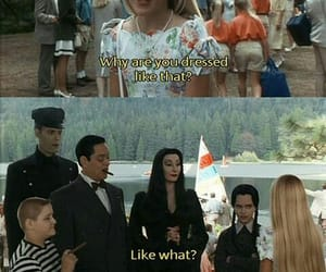black, addams family, and quotes image