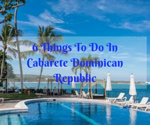 Dominican Republic, travel, and Caribbean image