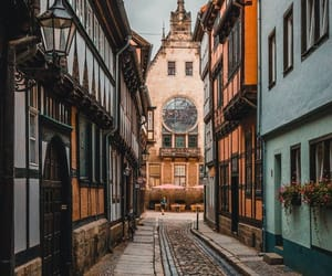 streets, town, and architecture image