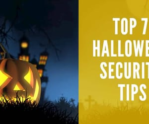 Halloween and security tips image