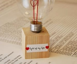 diy, light, and love image