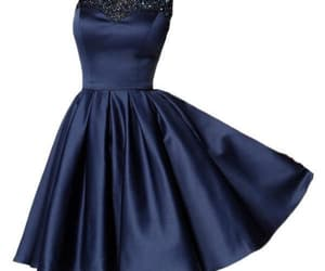 cheap homecoming dress, blue homecoming dress, and 2018 homecoming dress image