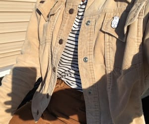 corduroy, fall, and stripes image