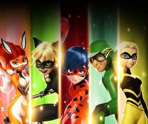 miraculous, ladybug, and Chat Noir image