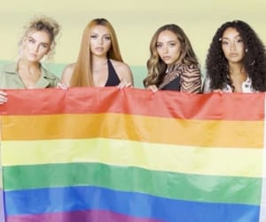 little mix, flag, and lgbt image