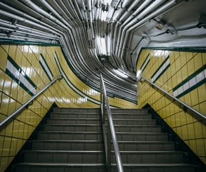 architecture, nyc, and subway image