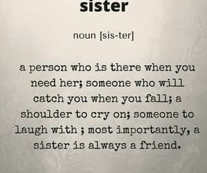 sisters, family, and friend image