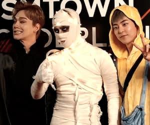 Chen, chenbaekxi, and exo image