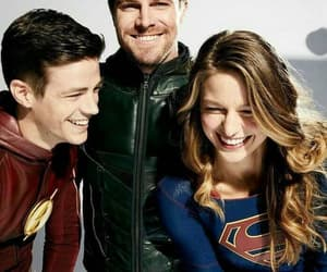 Supergirl, arrow, and oliver queen image