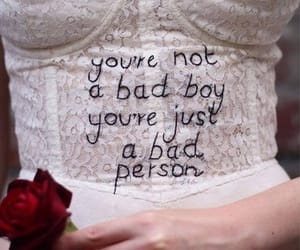 bad, boy, and quotes image