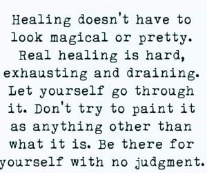 healing and quote image